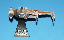 STAR WARS MICRO MACHINES B-WING FIGHTER ORANGE TITANIUM SERIES DIE-CAST