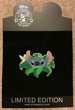 Disney Shopping Stitch with Hummingbird Nature Leaves LE 250 Pin NEW ON CARD