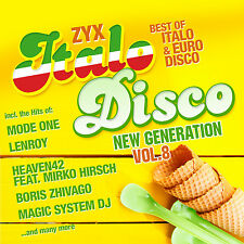 CD Zyx Italo Disco New Generation Vol.8 von Various Artists  2CDs