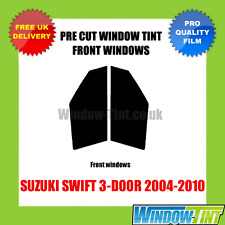 SUZUKI SWIFT 3-DOOR 2004-2010 FRONT PRE CUT WINDOW TINT