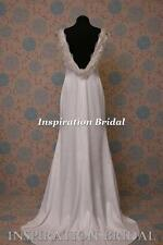 UK 1562 wedding dress dresses 1920s 1930s Crepe Back vintage inspired Emilena 20