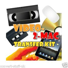 Copy / Convert / Transfer VHS & Camcorder Video Tapes to Apple Mac Lion OSX DVD