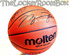 1992 molten dream team signed michael air jordan Bird Magic NBA pelota de baloncesto