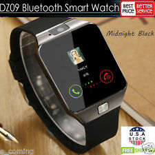 Dark DZ09 Bluetooth Smart Watch GSM SIM for iPhone Samsung lg Android Phone Mate