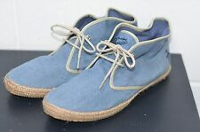 Mens Blue Riviera Casual Canvas Shoes UK Size 9 (43) from PENGUIN