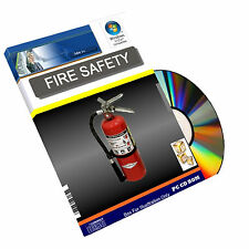 Fire Extinguisher Means of Escape Health Safety Powerpoint Training Course on CD