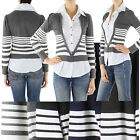 NEW WOMEN LADIES SEXY SHIRT 5.1cm 1 STYLE TOP BLOUSE JUMPER SWEATER UK Size 8/12