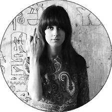 CHAPA/BADGE GRACE SLICK . pin button jefferson airplane grateful dead love