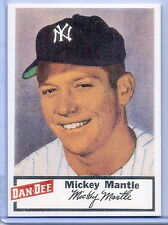 MICKEY MANTLE 1954 DAN-DEE POTATO CHIPS VINTAGE REPRINT! NEW YORK YANKEES!!