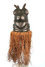 Art Africain - AncienMasque Mende - Quality African Mask - Sierra Leone - 54 Cms