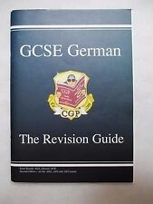 GCSE GERMAN REVISION GUIDE FOR AQA EDEXCEL & OCR BOARDS - CGP 2003 2nd Edition
