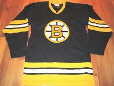 VINTAGE 70'S SANDOW SPORTING KINT NHL BOSTON BRUINS JERSEY SIZE S