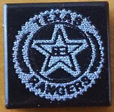 LEGO Custom Black 1x1 TEXAS RANGERS Badge Tile – LEGO POLICE