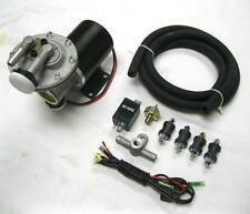 "Universal 12v Electric Power Brake Booster Vacuum Pump Kit Hot Rod 18-22"" Vacuum"