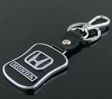 New  Honda Series Style Car Keychain Honda Leather Keychain Collect Key Ring