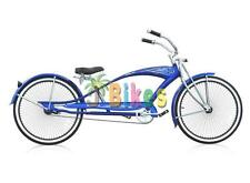 """Micargi Puma GTS Stretch, Blue - 26"""" Beach Cruiser Bike"""