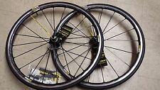 Mavic ksyrium pro SL road racing bike bicycle wheelset 700C clincher shim/sram