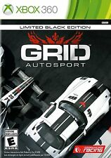 Grid Autosport: Limited Black Edition  (Xbox 360, 2014) *New,Sealed*