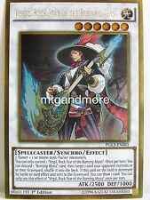 Yu-Gi-Oh - 1x Virgil, Rock Star of the Burning Abyss - PGL3 - Premium Gold