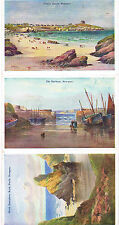 DAINO WATER COLOR LETTER CARD NEWCASTLE 1932  - WORTHING