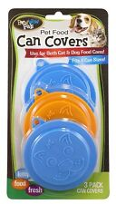 New 8813 Bow Wow Pet Food Can Covers 3 Pack *