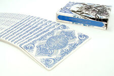 NEW BICYCLE BLUE ASURA PLAYING CARDS DECK BY CARD EXPERIMENT