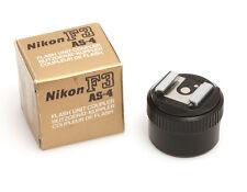 Nikon as-4 blitzkuppler para la Nikon f3