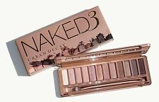 NAKED 3 EYE SHADOW MAKE UP PALETTE  BRAND NEW IN BOX