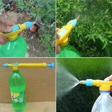 Mini Juice Bottles Interface Trolley Gun Sprayer Pump Head Water Pressure Tool