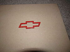 1993-2002 chevy Camaro SS rear bumper bow tie RED emblem OEM GM factory FC6