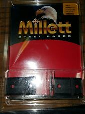 Millett 2-Piece Steel Angle-Loc Weaver-Style Scope Base Browning A-Bolt WSM
