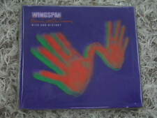 PAUL MCCARTNEY WINGSPAN RARE OOP LTD HOLOGRAM COVER & HC BOOK 2CD