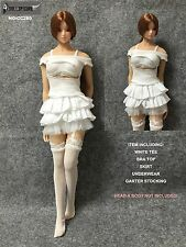 CC280 1/6 DOLLSFIGURE Sexy Punk Clothing Set for HOT TOYS,PHICEN,HOT STUFF