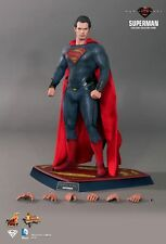 "Superman Man of Steel Henry Cavill DC Comics 12"" Figur MMS200 Hot Toys"