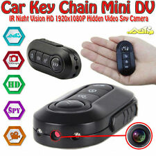 Full HD 1080P Car Key Chain Mini Camera DV IR Led Night Vision Hidden DVR Camera