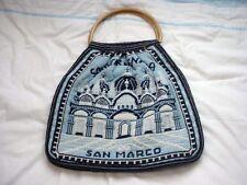 Souvenir Venezia Italy Vintage Handbag Tote Bag Tapestry San Marco Ponte Rialto