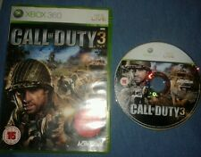 Call of Duty 3 (Microsoft Xbox 360) XBOX ONE COMPATIBLE. Boxed. GC. Free P+P.