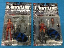 Sara Pezzini and Variant set - Witchblade Series 2 Action Figure -Moore, Top Cow
