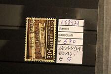 STAMPS FRANCOBOLLI OLANDA USATI N. 670 (A68971)