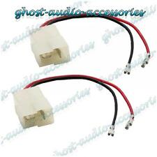 Pair of Speaker Connector Adaptor Lead Cable Plug for Ford KA