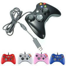 Wired USB GamePad Joypad Controller For MICROSOFT Xbox 360 Slim&PC gift