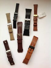 Diesel Leather & Canvas Watch Straps - This is for 1 strap only