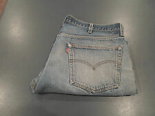VTG Mens Levis 501 Button Fly Jeans Medium Wash SIZE 37 X 28 USA Made