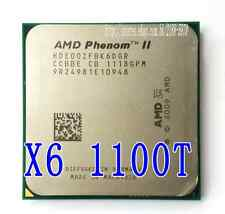 Free shipping AMD Phenom II x6 1100T 3.3GHz Socket AM3 6 Core (HDE00ZFBK6DGR)