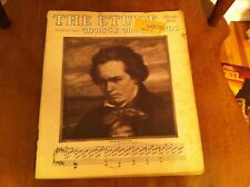 THE ETUDE Music Magazine March 1948 Beethoven Narcissus Spring Mood Mal Du Pays