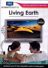 LIVING EARTH: 42 SCENES VIRTUAL RELAXATION TV SCREENSAVER NATURAL SOUNDS & MUSIC