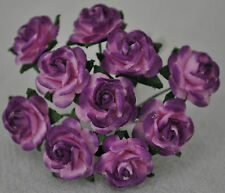 50 LILAC LIGHT PINK ROSE (1.5cm) Mulberry Paper for weddings crafts cardmaking