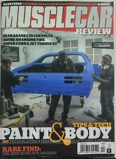 Muscle Car Review April 2017 Paint & Body Tips & Tech Chevelle FREE SHIPPING sb