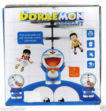 Doraemon Style Flying Helicopter Sensor Remote Control Toys Kids Child Baby - 322042837671