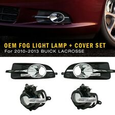 Genuine Parts Bumper Fog Light Lamp Assy Cover LH RH for BUICK 2010-13 Lacrosse
